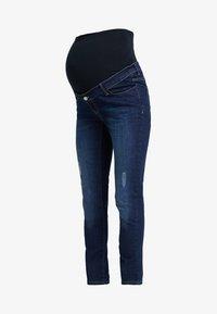 Esprit Maternity - PANTS - Slim fit jeans - darkwash - 4