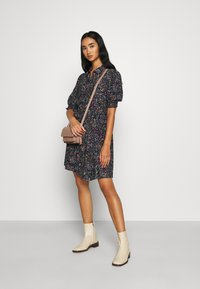 Vero Moda - VMLISSY SHORT DRESS - Shirt dress - navy blazer - 1