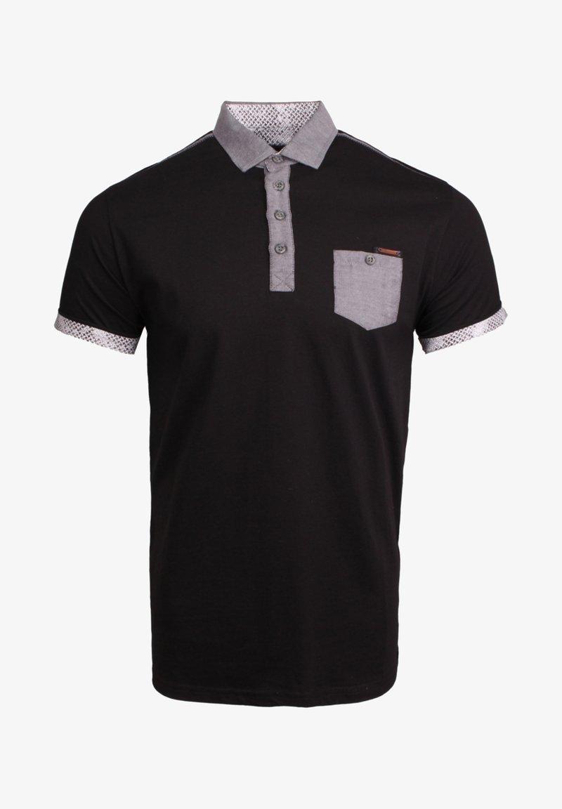 Gabbiano - Polo shirt - black