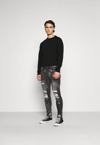 Nominal - DESTROY  - Jeansy Slim Fit - black - 1