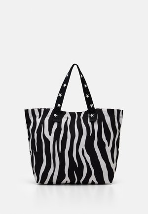 TOTE - Shopping bag - zebra leopard/star
