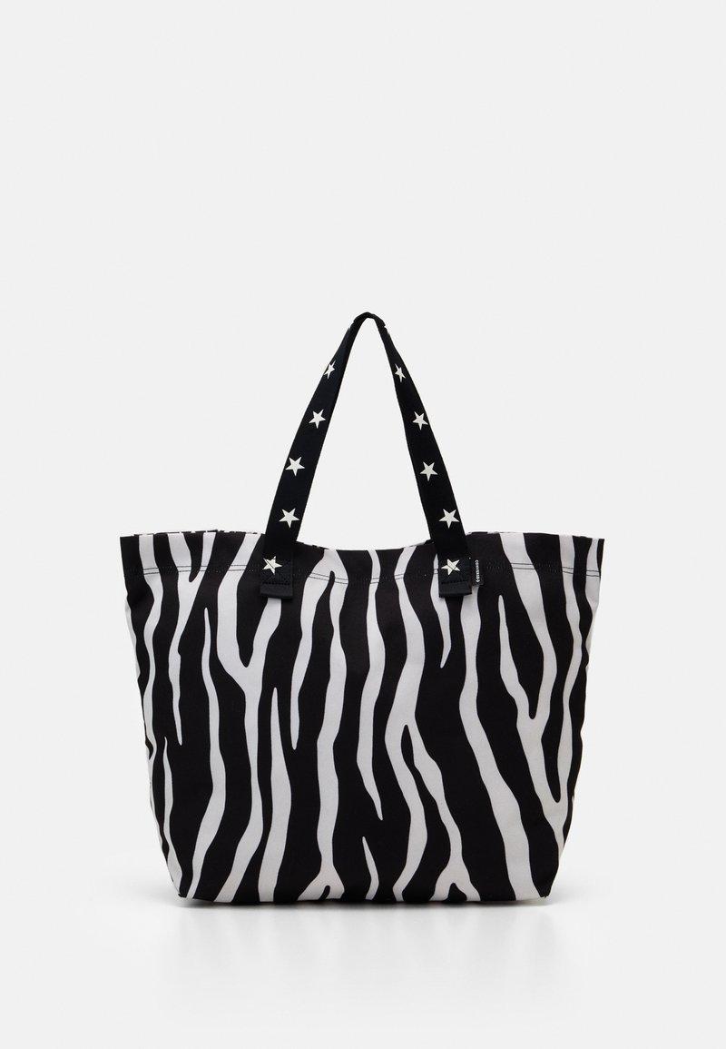 Converse - TOTE - Shopping bag - zebra leopard/star