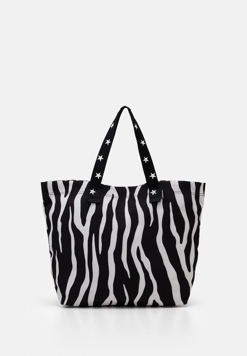 Converse - TOTE - Bolso shopping - zebra leopard/star