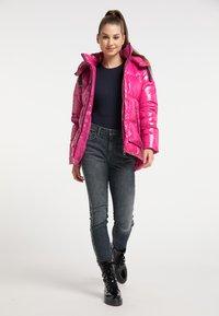 myMo - Winter jacket - fuchsia - 1