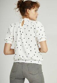 NAF NAF - Print T-shirt - white - 2