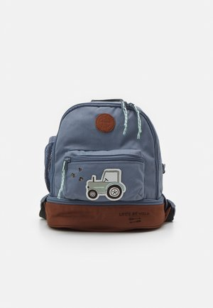 MINI BACKPACK ADVENTURE TRACTOR - Batoh - blue
