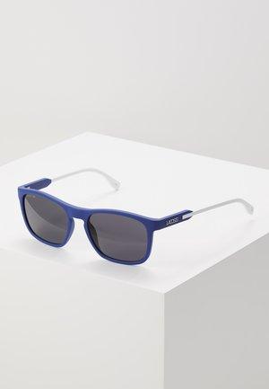 Sunglasses - blue/white