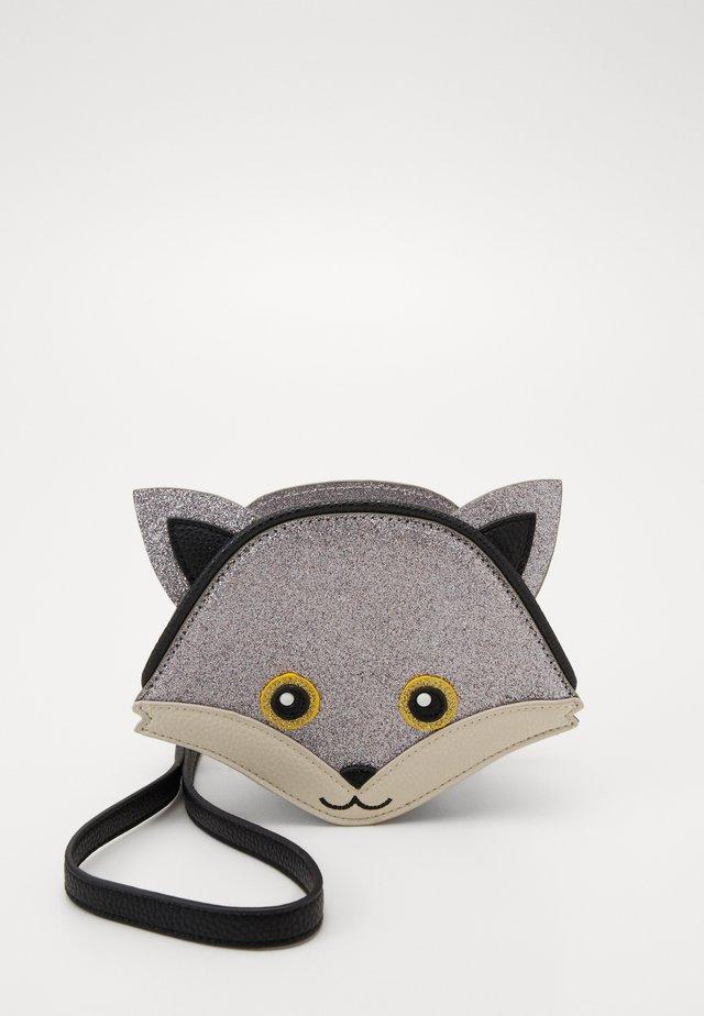 FOX BAG - Taška spříčným popruhem - glitter