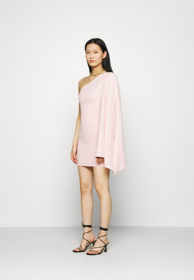 THE DAY BREAK MINI DRESS - Vestito di maglina - pink