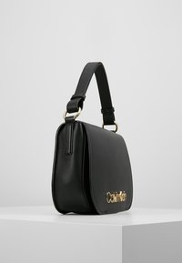 Calvin Klein - DRESSED UP SATCHEL - Handbag - black - 3