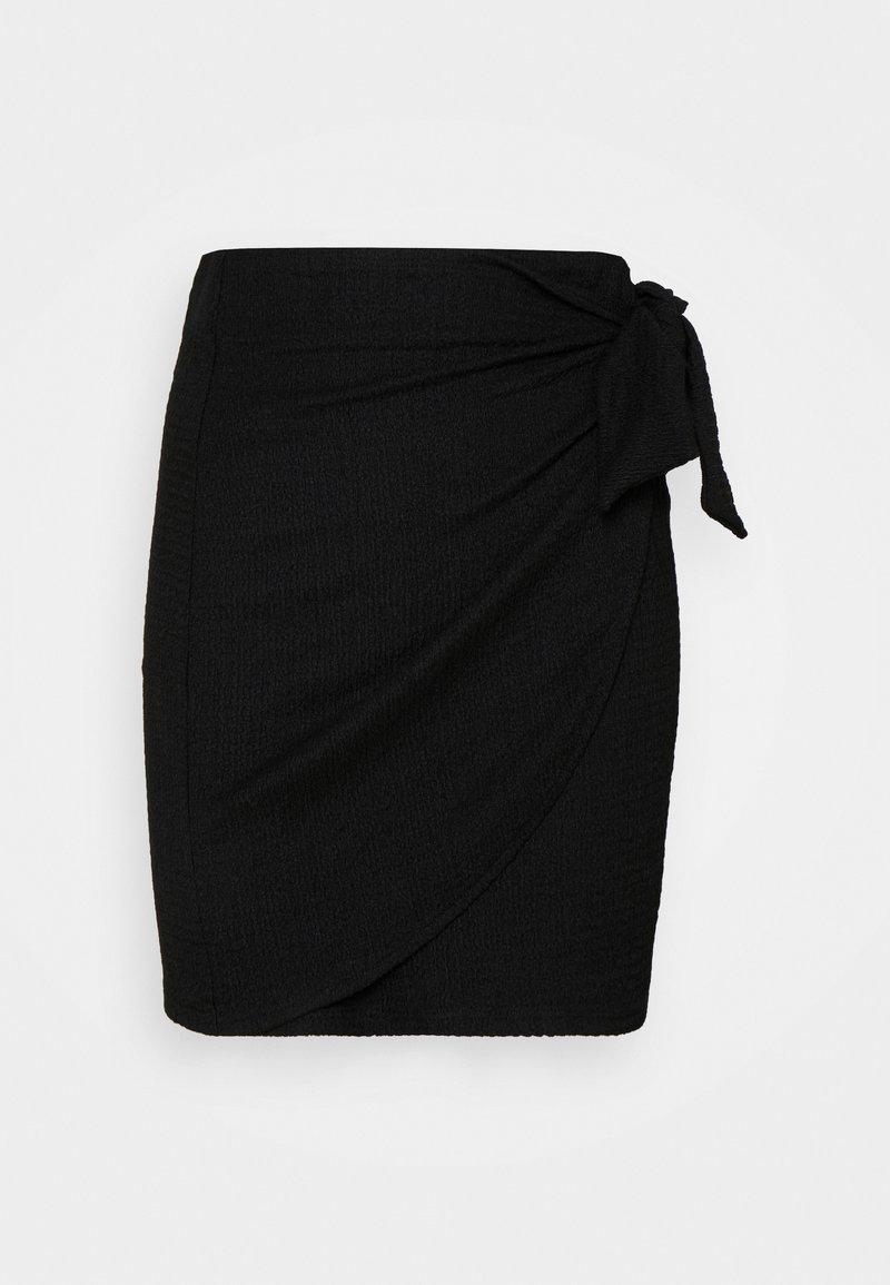 EDITED - ALIA SKIRT - Mini skirt - schwarz