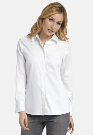 MIT LANGEN ÄRMELN - Button-down blouse - weiãŸ