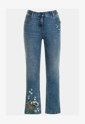 FROISSÉ, BROD - Jeans bootcut - bleu jean