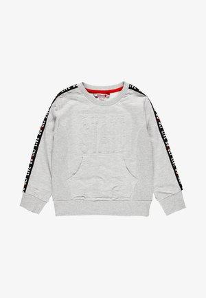 Sweatshirt - light melange grey