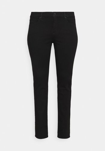 SHAPING STRAIGHT - Slim fit jeans - new ultra black