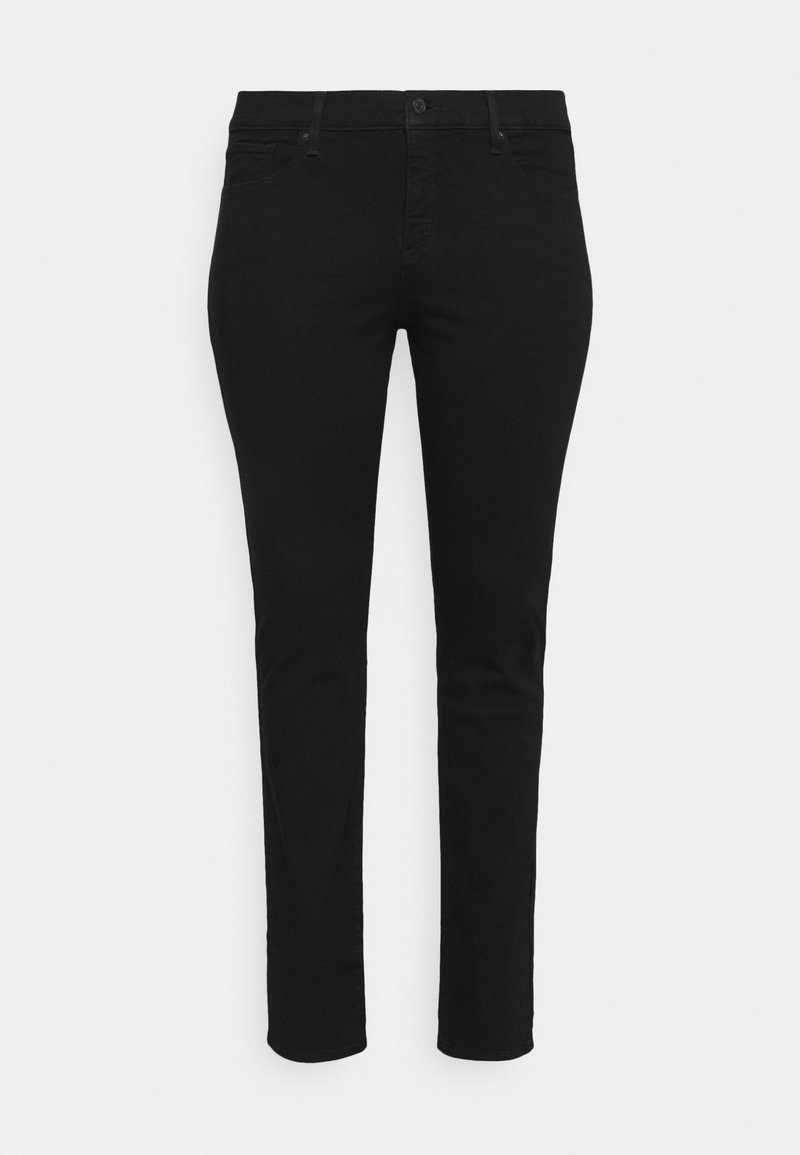 Levi's® Plus - SHAPING STRAIGHT - Jeans slim fit - new ultra black
