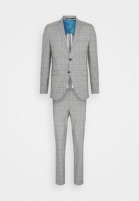 SLHSLIM KYLELOGAN - Suit - light gray