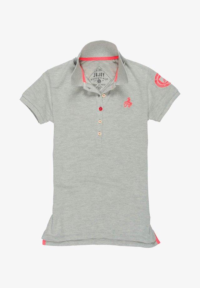 Poloshirt - grijs