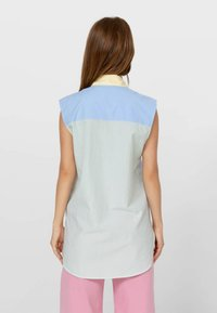 Stradivarius - Button-down blouse - light blue - 2
