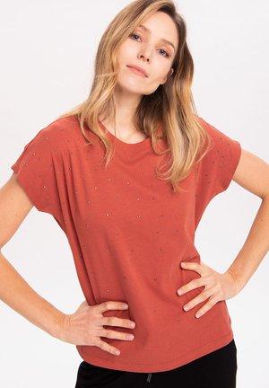 T-shirt print - terracota