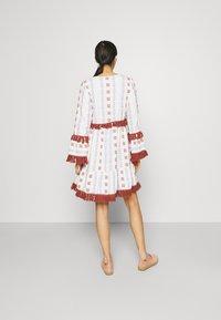 YAS - YASFIDELI DRESS - Day dress - star white - 2