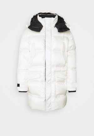 Down coat - white
