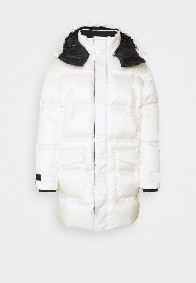 Abrigo de plumas - white