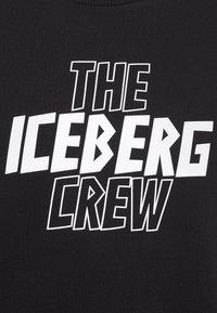 Iceberg - FELPA GIROCOLLO  - Sweatshirt - nero - 7