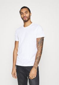 Burton Menswear London - SHORT SLEEVE CREW 7 PACK - T-shirt basic - black - 3