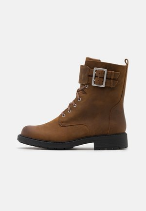 ORINOCO LACE - Veterboots - brown