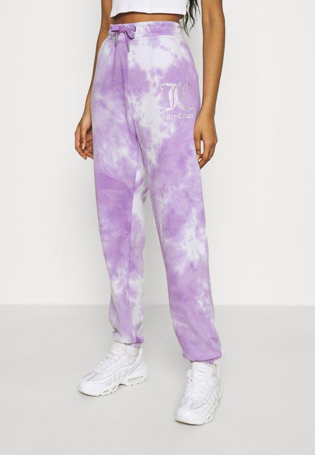 SOVEREIGN - Pantalon de survêtement - purple sea