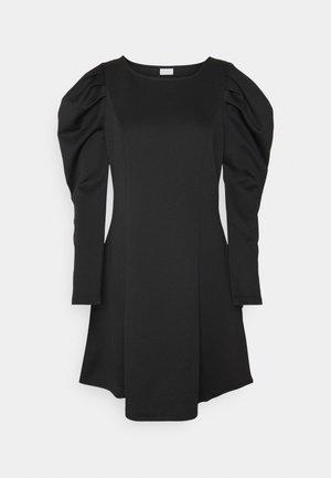 VIMALOUA PUFF DRESS - Jersey dress - black