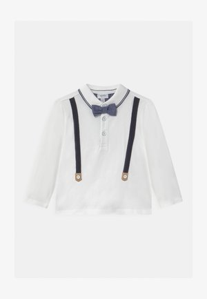 SUSPENDER BOW - Long sleeved top - snow white
