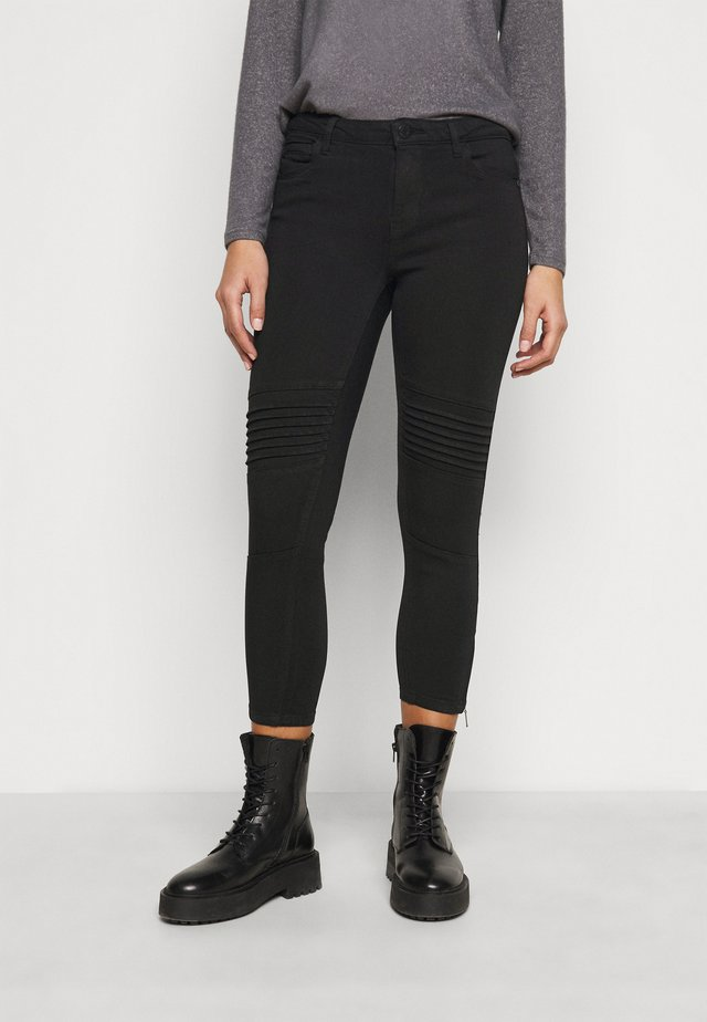 NMKIMMY BIKER - Jeans Skinny Fit - black