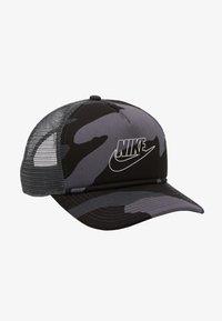 Nike Sportswear - CAMO TRUCKER - Casquette - dark grey - 4