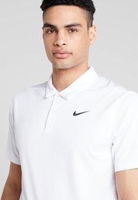 Nike Golf - DRY ESSENTIAL SOLID - Funktionströja - white/black - 4