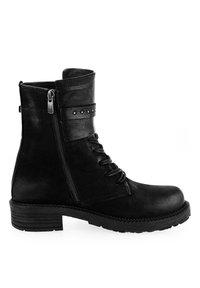 PRIMA MODA - RAVALLE  - Cowboy/biker ankle boot - black - 3