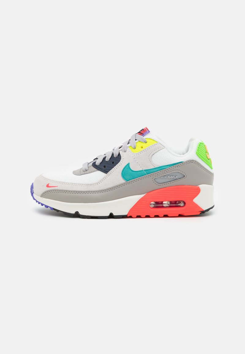 Nike Sportswear - AIR MAX 90 EOI UNISEX - Sneakers laag - pearl grey/sport turquoise/summit white/black
