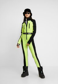 Topshop - SNO NEON STAR - Tuta jumpsuit - yellow - 1