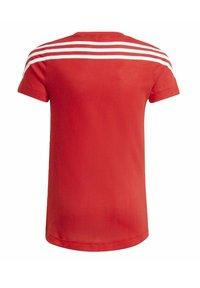 adidas Performance - Print T-shirt - red - 1