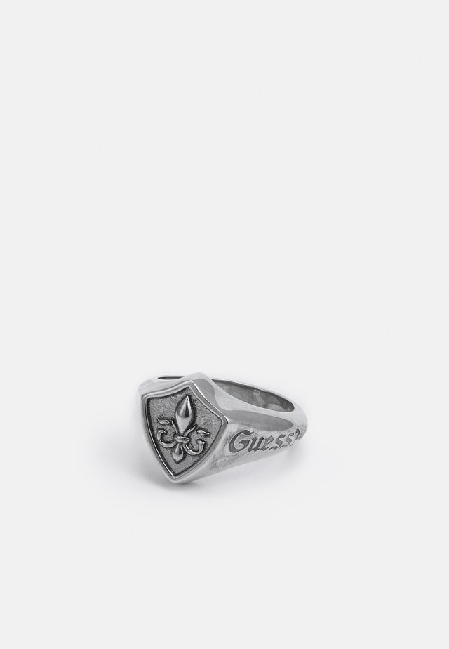 SHIELD SIGNET GIGLIO - Prsten - antique silver-coloured