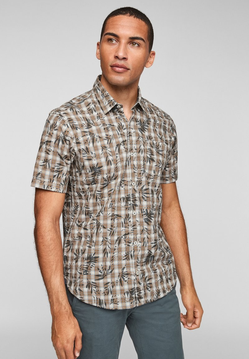 s.Oliver - Shirt - yellow check