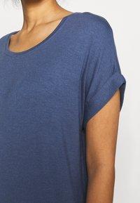 ONLY - ONLMOSTER ONECK - T-shirts - vintage indigo - 5