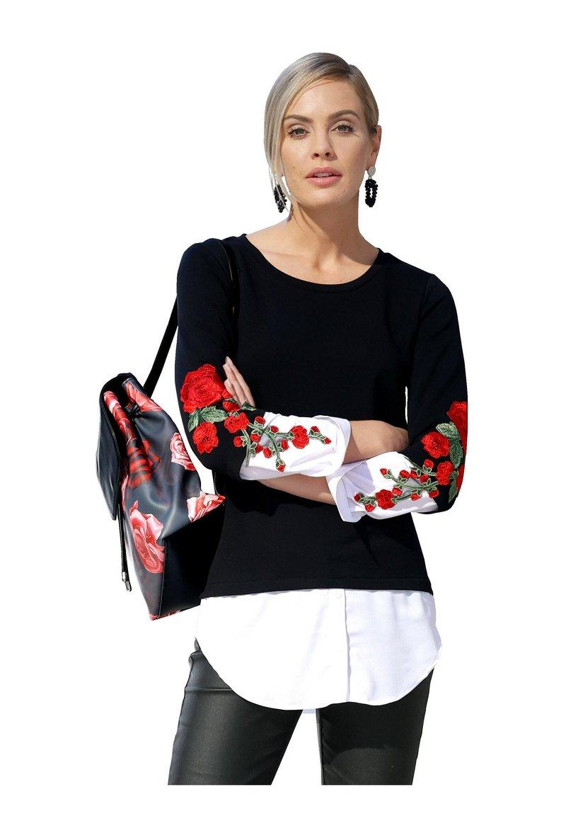 Amy Vermont - Blouse - schwarz rot weiß