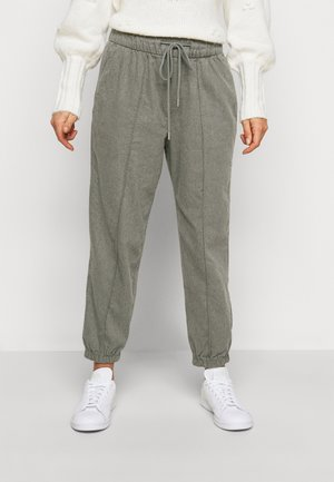 WARM DRAWSTRING - Tracksuit bottoms - grey heather