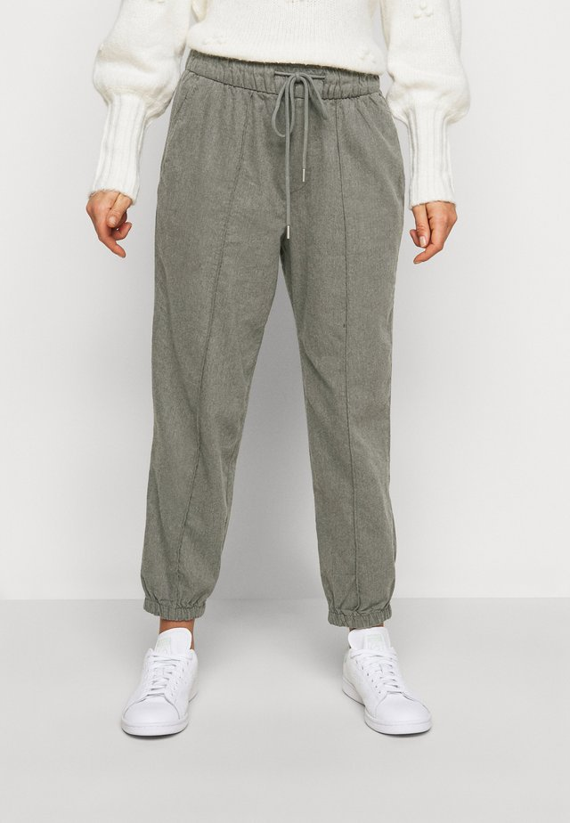 WARM DRAWSTRING - Trainingsbroek - grey heather