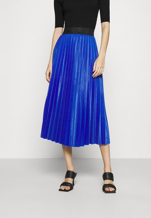 MONICA PLEATED SKIRT - A-line skirt - electric blue