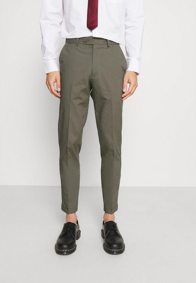 JPRLIGHT SID TROUSER - Pantaloni - sedona sage