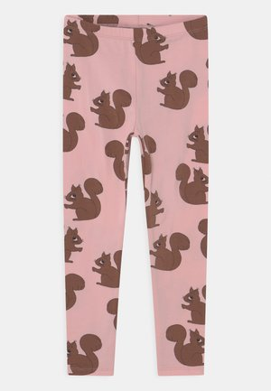 SQUIRREL UNISEX - Leggings - Trousers - pink