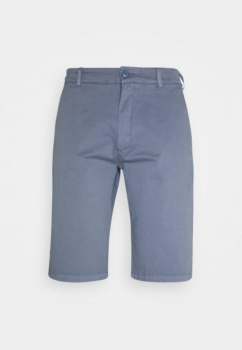 Schott - Shorts - steel blue